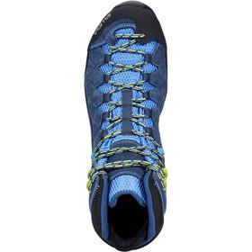SALEWA Alp Trainer Mid GTX Shoes Herren dark denim/cactus